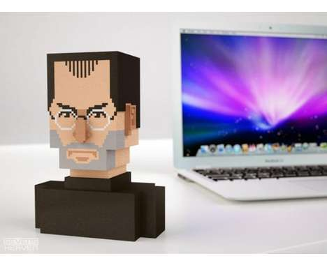30 Odd Modern Busts - From Matchstick Sculptures to Coin Bank Beethoven Busts