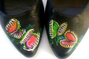 These Venus Fly Trap Mary Janes by ScholarlyArticles Are Dangerous