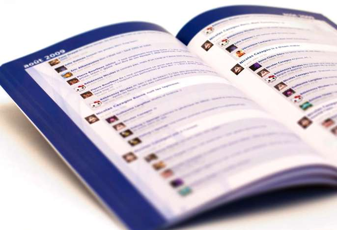 Custom Facebook Books