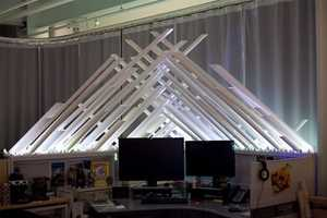 The Fortress of Solitude Desk is Ideal for Superman Superfans