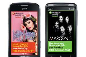 Katy Perry Windows Phone 7 Launch Puts on a Free Performance