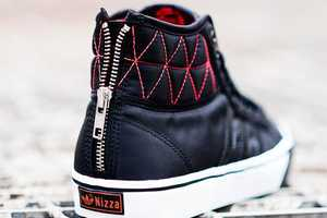The Adidas Nizza High Zip Sneakers are Super Stylish and Unique