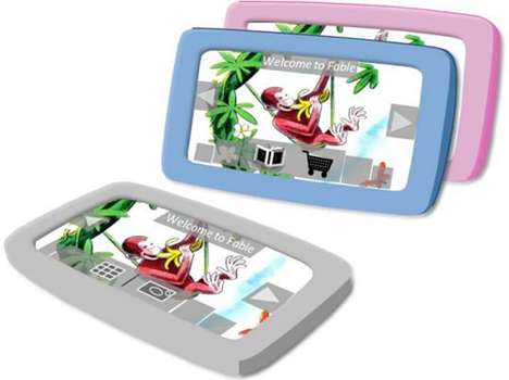 Kid-Friendly Tablets - The Fable Tablet Brings the Latest Technology to Children