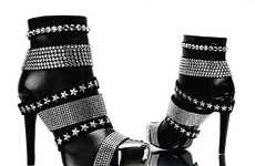 Shine On with these Philipp Plein Hot Swarovski Boots