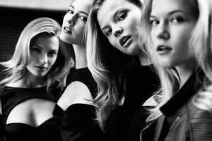 The Cameron Krone Viva Moda Shoot Features Various Blonde Supermodels