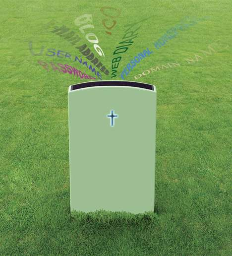 Social Media Tombstones - Tweet & Share with the Dead Using the E-Tomb