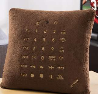 Pillow Remotes - Never Look for Your Remote Control Again with this Handy Creation