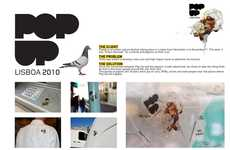 Pigeon Poopvertising - Torke Uses Bird Feces in a High Impact Stunt for PopUp