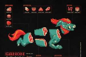 Jude Buffum Shows How to Cook Your Favorite Video Game Icons