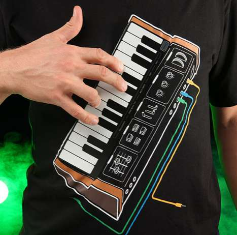 Electronic Music Synth Shirt