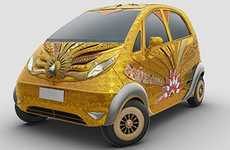 Gold-Coated Cars - The 'Goldplus Nano' Competition Makes an Inexpensive Auto Exorbitant