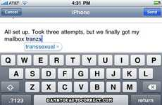 'Damn You Auto Correct' Captures Unintended iPhone Text Miscues