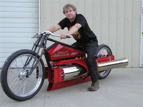 DIY Jet-Powered Bikes (UPDATE) - Bob Maddox's Motorbike is the Ultimate Garage Project