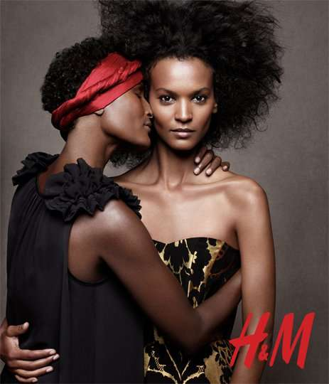 h&m holiday 2010 campaign
