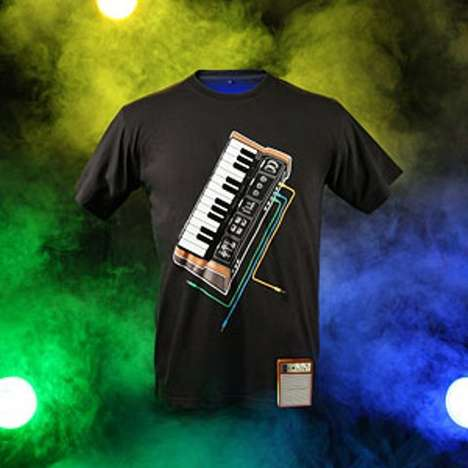 Electronic Music Synthesizer Shirt
