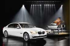 Instrument-Inspired Luxury Sedans - The BMW Individual 7-Series Composition is for Pianists
