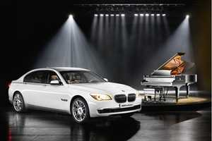 The BMW Individual 7-Series Composition is for Pianists