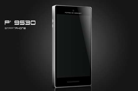 Sleek Auto Phones - This Porsche Design Smartphone Looks Just as Exciting as the Car Itself