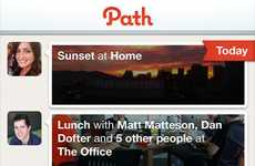 Anti-Social Media Platforms - The Path iPhone App Personalizes Your Social Network