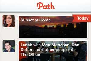 The Path iPhone App Personalizes Your Social Network