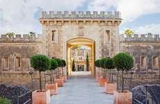 Intricately Grand Vacays - The Cap Rocat Hotel is a Restored 19th Century Spanish Military Fortress