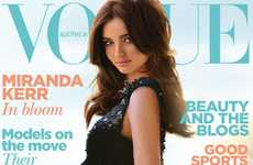 Glamorous Baby Bumps - The Marvelously Maternal Miranda Kerr Vogue Australia January 2011 Issue