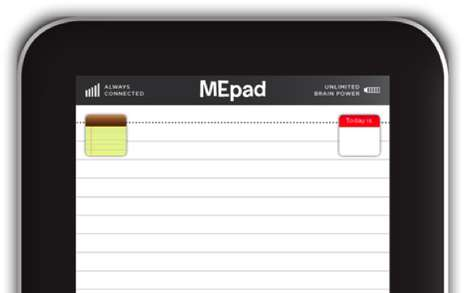 Tablet-Imitating Notepads - The LobotoME 'MEpad' Competes Against the iPad's Complexity