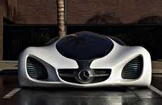 Sleek Customized Supercars - The Mercedes-Benz Futuristic 'Biome Concept' Car