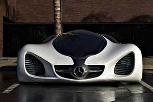 The Mercedes-Benz Futuristic 'Biome Concept' Car