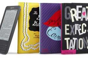 Kate Spade 'Kindle' Covers Reinterpret Classic Novels