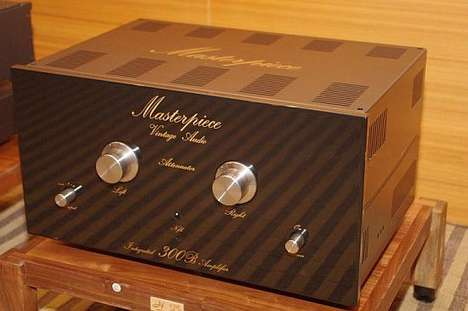 Masterpiece Vintage Audio Amplifier