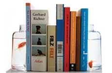Fish-Friendly Shelfmates - These 'Halve Bookends' from Gnr8 Combine Novel and Nautical