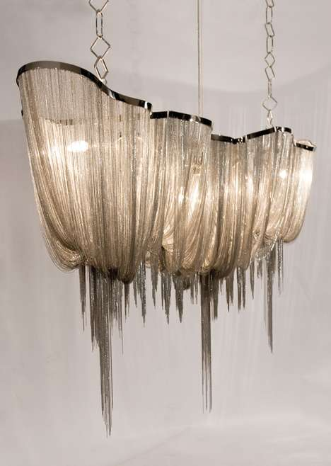 Jellyfish Tentacle Chandeliers
