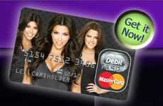 Celebrity Credit Cards - The Kim Kardashian Mastercard will Have You Spending Like a Star