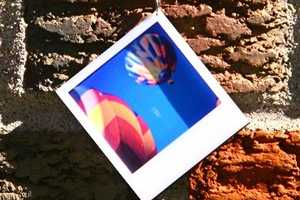 Polaroid-Shaped Adornments by Amy Blasco Jewelry