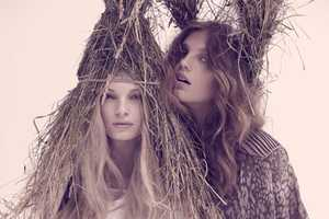 Stockholm Magazine Spring/Summer 2011 Editorial Has Garden-Ready Headwear