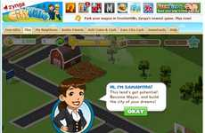 Social City-Planning Games - Zynga Cityville is a New Vice for Farmville Addicts on Facebook
