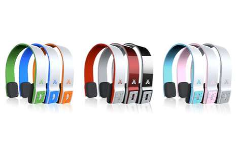 Vibrant Cord-Free Headsets - The 'Jaybird Sportsband SB2' Blends Retro Style and Modern Tech