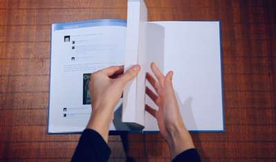 Social Media Memoirs - The Facebook Book by Perfect Fools Preserves Your Online Persona