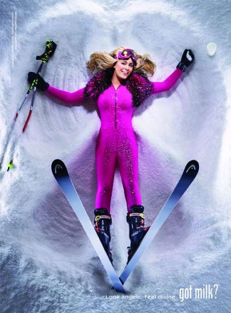 Lindsey Vonn Got Milk Ads