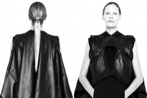Rad Hourani SS 2011 Collection Showcased in a Listless Shoot