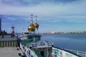 The Saint Vladimir Chapel Boat Sets Sail to Spread the Gospel