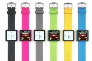 Strap On Your iPod Nano with the NanoWatch