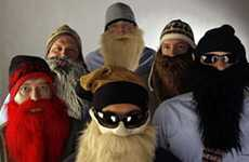 Hairy Business Ventures - 'Beardski' Bearded Ski Masks Would Make ZZ Top Proud