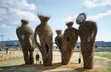 Amazing Stick Sculptures