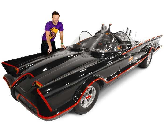Real-Life Batmobiles