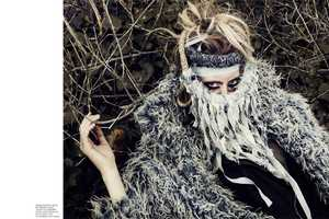 Natalie Keyser Black Magazine Shows Off Grungy Couture