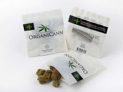 Sustainable Pot Packaging - Marijuana Goes Greener with the Eco-Friendly OrganiCann Marijuana