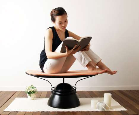 Zen-Inducing Seaters - The Meditation Everyday Stool Helps Maintain Serenity
