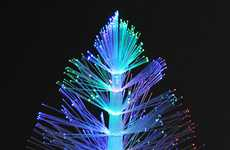 Shimmering Christmas Trees - Ring in the Festive Season with the USB Fibre Optic Christmas Tree